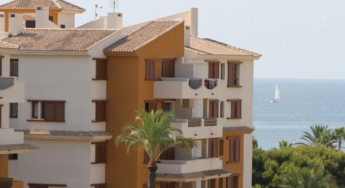 Апартаменты на первой линии пляжа в Торревьеха (Аликанте), Испания