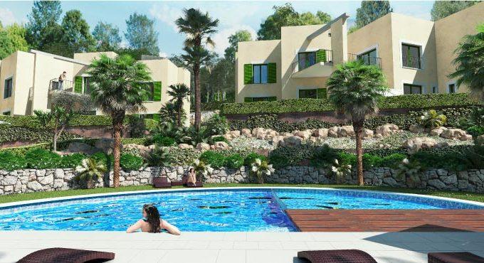 Новый жилой комплекс в Кала-Виньес Кальвия Майорка, Испания