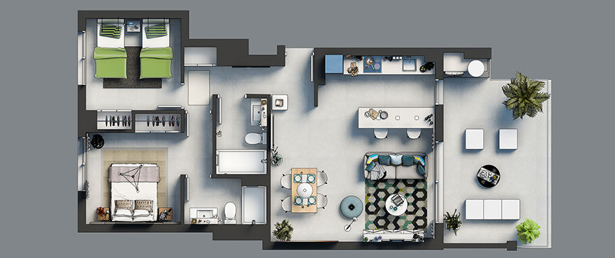 Plan_1_Arenal_Dream-2-beds-1