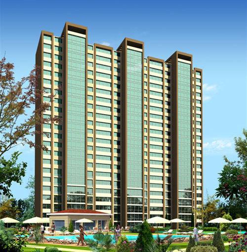 Продажа - резиденс апартаменты 110 кв. м Стамбул Турция