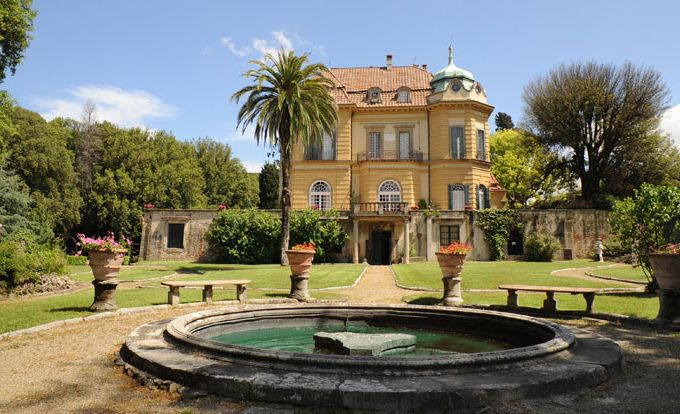 Вилла в Фьезоле Флоренция, Италия