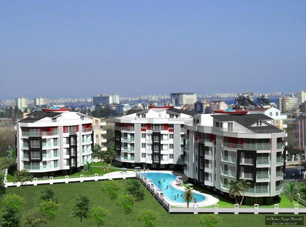 Продажа- Квартира, Анталия, Турция