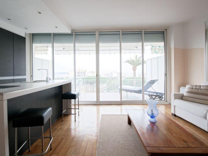 2-х комнатная квартира 50 м.кв в Каннах Франция