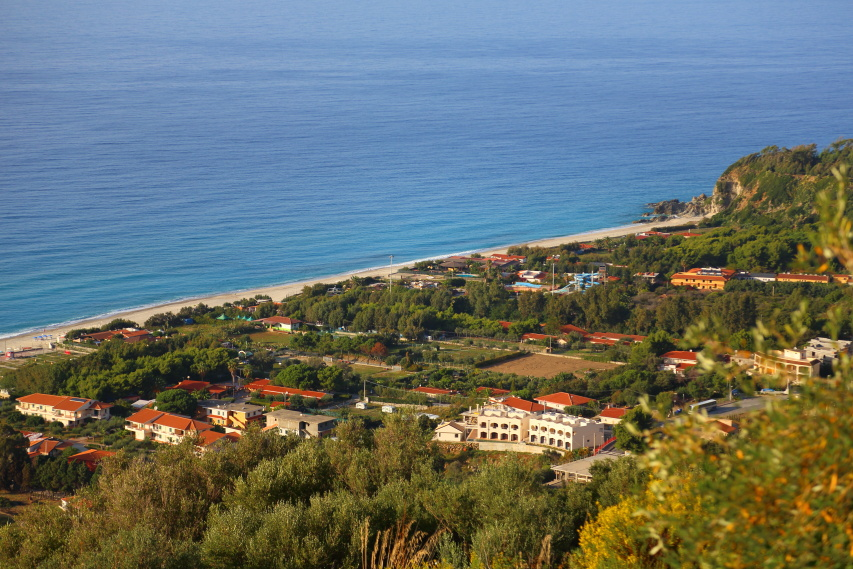 Aerial View of Development - Zambrone BeachVillas