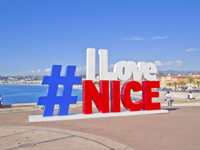 Ницца Английская набережная Франция