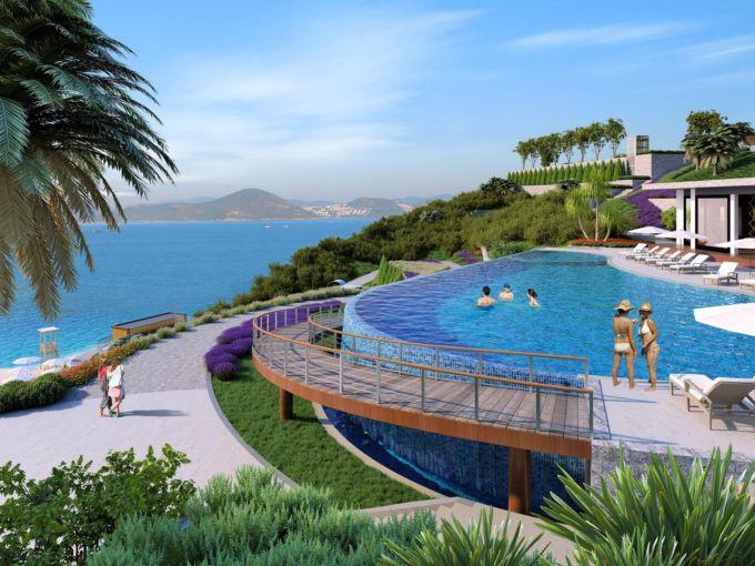 Уникальный жилой комплекс в Бодруме Турция