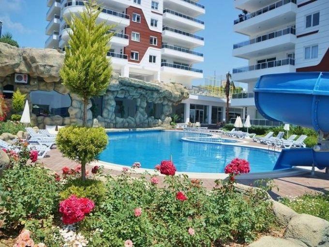 Комплекс с квартирами 2+1 Алания Турция
