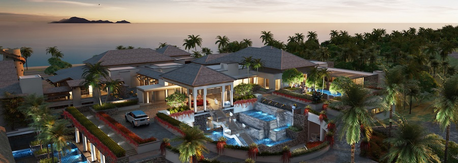 Жилой комплекс в Доминике