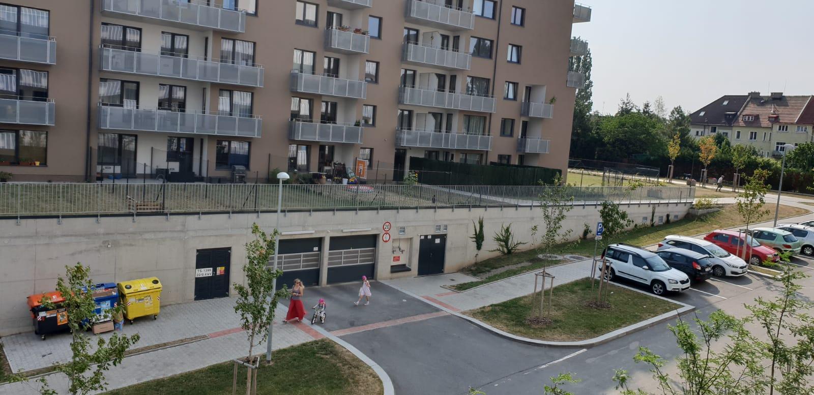 Двухкомнатная квартира в Праге