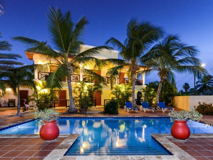 Бутик-отель - готовый арендный бизнес с возможностью расширения, остров Бонайре, Карибские острова
