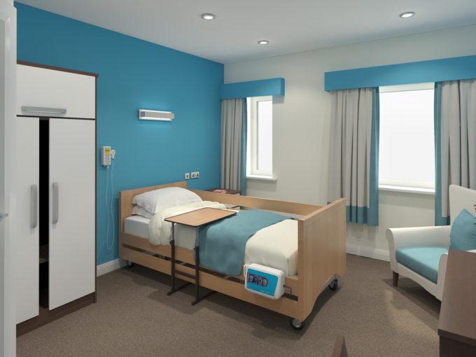 Доходные апартаменты в пансионате для пожилых людей среднего класса