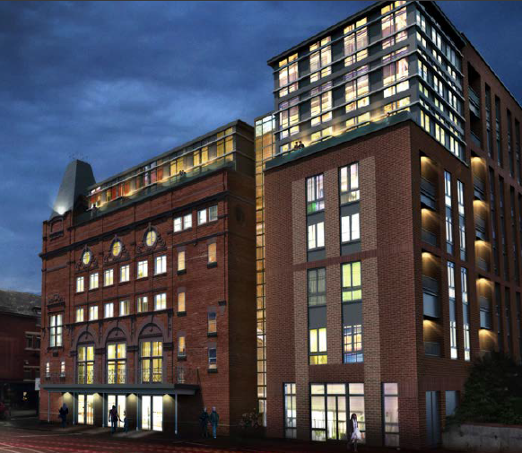Доходные апартаменты премиум-класса в Манчестере