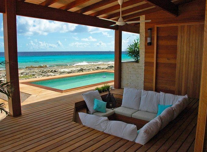 Пляжный дом на берегу моря