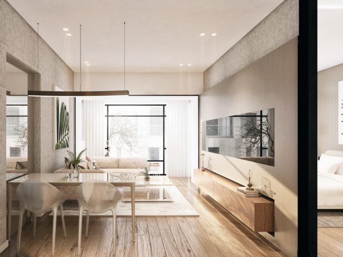 Апартаменты в Стамбуле на стадии строительства