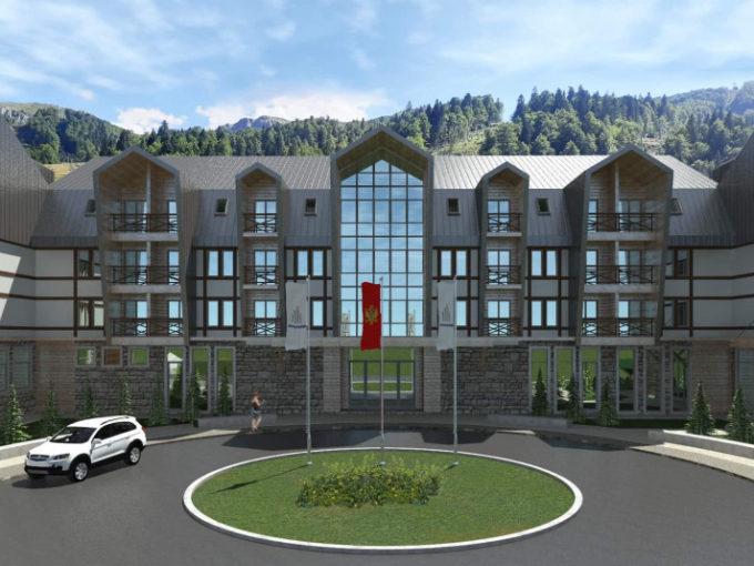 Отель Bjelasica 1450 - инвестиция для получения гражданства Черногории