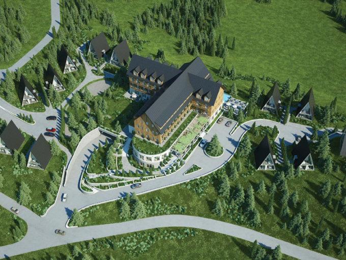 Отель Dormitor & Villas -инвестиция для получения гражданства Черногории