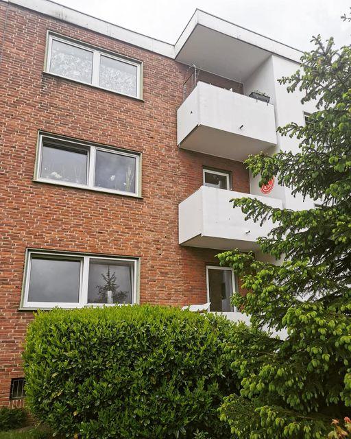 Трёхкомнатная квартира в кирпичном доме в Дюссельдорфе